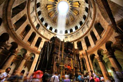 Image result for Church of the Holy Sepulcher in Jerusalem: